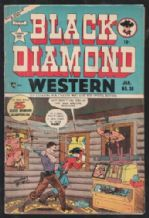 American western comic book 1952 Black Diamond # 30 nice item